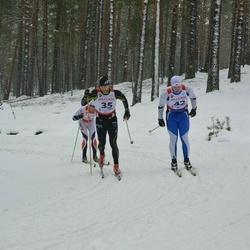 Võiste Suusamaraton - Tair Anton (35), Alar Lehesmets (42)