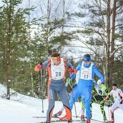18. Tallinna Suusamaraton - Taavi Kaiv (17), Alar Savastver (28)