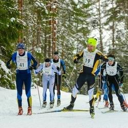 18. Tallinna Suusamaraton - Anti Saarepuu (19), Peep Kivil (41)
