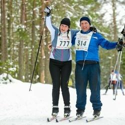 18. Tallinna Suusamaraton - Anneli Laur (777)