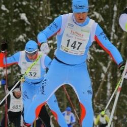 18. Tallinna Suusamaraton - Andre Pukk (132), Tarmo Visnapuu (147)