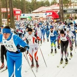 18. Alutaguse Maraton - Janno Rodendau (43), Urmas Kanep (69), Karl-Cardo Mere (442)