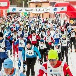 18. Alutaguse Maraton - Olavi Ründva (229), Anti Looskari (232), Tarvo Treier (266), Reedik Kikkas (464), Laur Lilienberg (574)