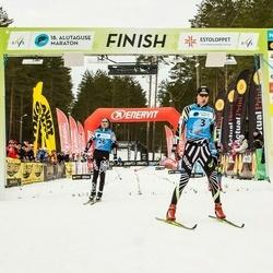 18. Alutaguse Maraton - Martti Himma (3), Eno Vahtra (4), Andreas Veerpalu (26)