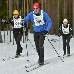 18. Alutaguse Maraton - Eve Piilmann (285), Ermo Kruuse (286), William Combes (2024)