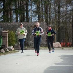 5. Tartu Parkmetsa jooks - Aleksandra Deljanskaja (255), Gaidi Kasu (282), Anna Veeber (475)