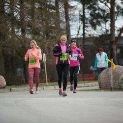5. Tartu Parkmetsa jooks - Merike Mägi (409), Brigitta Mõttus (451)