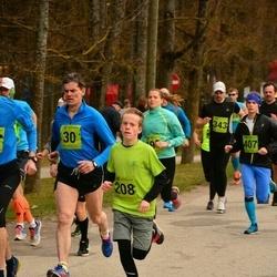 5. Tartu Parkmetsa jooks - Erki Palm (30), Martin Riives (208)