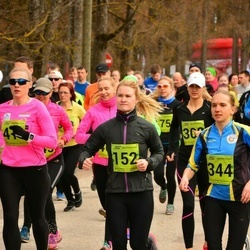 5. Tartu Parkmetsa jooks - Annika Nõmme (152), Kristel Sibul (344)