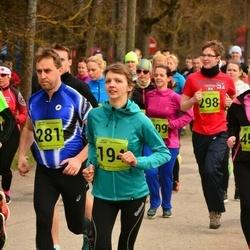 5. Tartu Parkmetsa jooks - Birgit Liira (194), Urmas Koor (281)