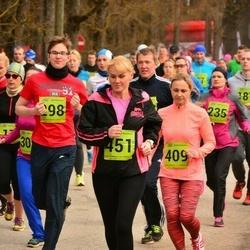 5. Tartu Parkmetsa jooks - Rudolf Aro (298), Merike Mägi (409), Brigitta Mõttus (451)