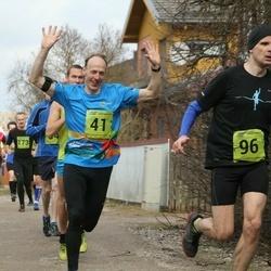 5. Tartu Parkmetsa jooks - Rein Vares (41), Tiit Palu (96)