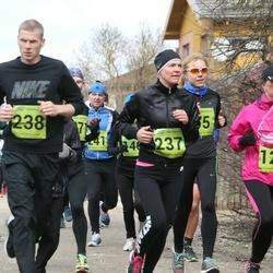 5. Tartu Parkmetsa jooks - Kairit Põlgaste (237), Rivo Põlgaste (238)