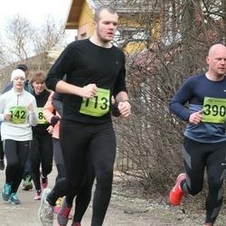5. Tartu Parkmetsa jooks - Kaarel Koitne (113), Marko Ferents (390)