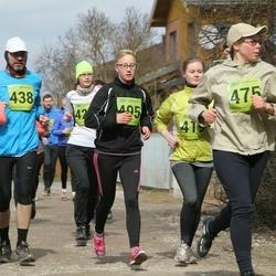 5. Tartu Parkmetsa jooks - Taika Hernetkoski (405), Anna Veeber (475)