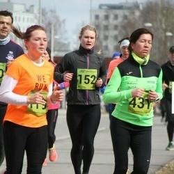5. Tartu Parkmetsa jooks - Annika Nõmme (152), Lola Belous (431)