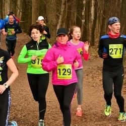 5. Tartu Parkmetsa jooks - Kristiina Viira (129), Endre Varik (271)
