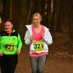 5. Tartu Parkmetsa jooks - Birgit Lausing (321), Evelin Vetevood-Järvelt (421)