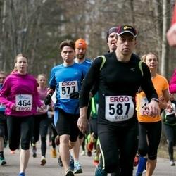 18. Nõmme maanteejooks - Tarass Snitsarenko (577), Andre Abner (587)