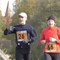 1. Tartu Linnamaraton / Sügisjooks - Sulev Lokk (26), Annika Vaher (66)