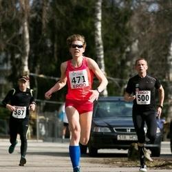 18. Nõmme maanteejooks - Eveli Kurg (471), Andres Laast (500), Andre Abner (587)