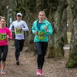 5. Tartu Parkmetsa jooks - Kristiina Laht (190)