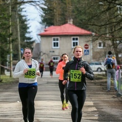 5. Tartu Parkmetsa jooks - Annika Nõmme (152), Evelin Pihlap (388)