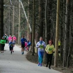 5. Tartu Parkmetsa jooks - Merily Unuks (196), Piret Zupsmann (369)