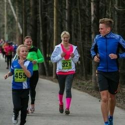 5. Tartu Parkmetsa jooks - Birgit Lausing (321), Epp Raidvee (455)