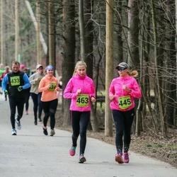 5. Tartu Parkmetsa jooks - Eveli Nõgesmäe (445), Kai Vakmann (463)