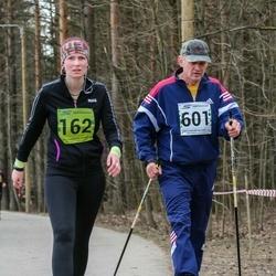 5. Tartu Parkmetsa jooks - Aet Kruusimägi (162), Aivo Kruusimägi (601)
