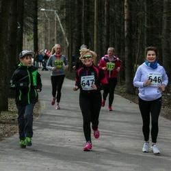 5. Tartu Parkmetsa jooks - Marika Kall (646), Aila Patrason (647)