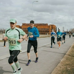 5. Tartu Parkmetsa jooks - Viktor Lääts (287), Björn Puna (393)
