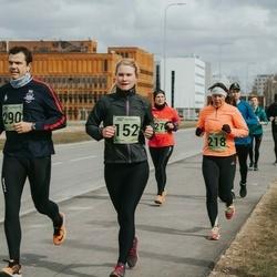 5. Tartu Parkmetsa jooks - Annika Nõmme (152), Kai Saar (218), Alger Ers (290)