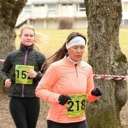 5. Tartu Parkmetsa jooks - Annika Nõmme (152), Kai Saar (218)