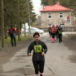 5. Tartu Parkmetsa jooks - Agnes Siniorg (74)
