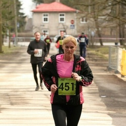 5. Tartu Parkmetsa jooks - Brigitta Mõttus (451)