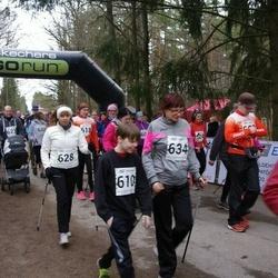 5. Tartu Parkmetsa jooks - Robert Pihu (610), Annely Põldaru (628), Silvia Pihu (634)