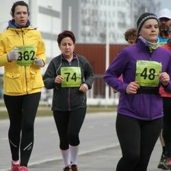 5. Tartu Parkmetsa jooks - Agnes Siniorg (74), Kadri Türk (362)