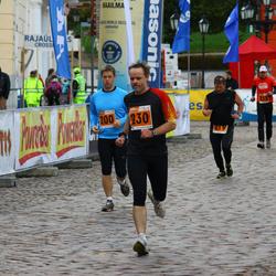 1. Tartu Linnamaraton / Sügisjooks - Agu Vilu (200), Priit Truusalu (230)