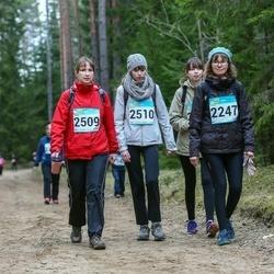 RMK Kõrvemaa Kevadjooks - Enna Audova (2247), Kristi Potter (2509), Birgit Potter (2510)