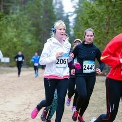 RMK Kõrvemaa Kevadjooks - Birgit Lausing (2061), Enelys Kalmus (2440)