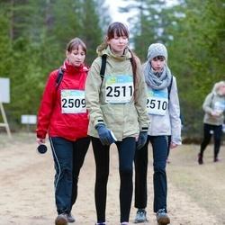 RMK Kõrvemaa Kevadjooks - Kristi Potter (2509), Birgit Potter (2510), Piret Potter (2511)