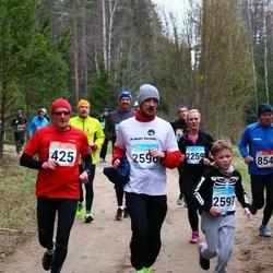 RMK Kõrvemaa Kevadjooks - Jüri Sakkeus (425), Marvin Varb (2597), Anna Kutšinskaja (2598)