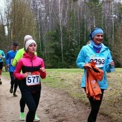 RMK Kõrvemaa Kevadjooks - Birgitti Pilvet (577), Veronika Rogalevitš (2293)