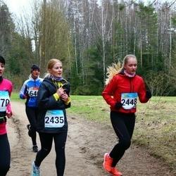 RMK Kõrvemaa Kevadjooks - Kristiana Põld (2435), Ann Liisbel Petter (2448)