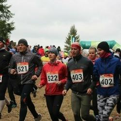 RMK Kõrvemaa Kevadjooks - Sandra Gornischeff (402), Kenneth Vallik (403), Neeme Vool (521), Brigita Korol (522)