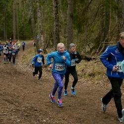 RMK Kõrvemaa Kevadjooks - Aija Klinduhhova (2180), Anni Jõe (2207)