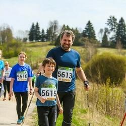 87. Suurjooks ümber Viljandi järve - Carmel Uibopuu (5510), Raul Omel (5613), Reinhold Omel (5615)