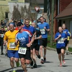 87. Suurjooks ümber Viljandi järve - Agris Eensalu (550), Holger Mägi (2600)